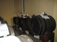 Array of vinegar barrel of Ambrosia